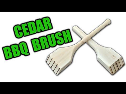 How to Make a Cedar BBQ Brush - 2 Methods