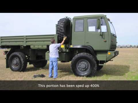 Stewart & Stevenson LMTV FMTV M1078 4X4 Military Tactical Vehicle Steyr MRAP