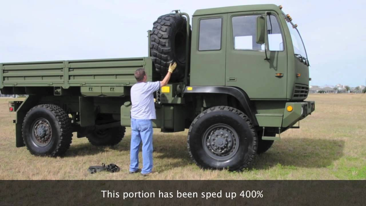 Stewart & Stevenson LMTV FMTV M1078 4X4 Military Tactical Vehicle Steyr on