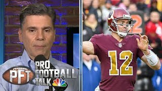 PFT Overtime: Matt Nagy's motivation, Redskins' faith in Colt McCoy | Pro Football Talk | NBC Sports