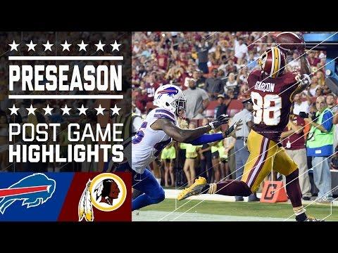 Bills vs. Redskins   Game Highlights   NFL