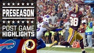 Bills vs. Redskins | Game Highlights | NFL