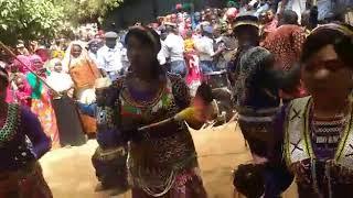 Nuba Mountains Music/ Nogoom Aljebal استعراض فرقة نجوم الجبال thumbnail
