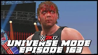 WWE 2K17 | Universe Mode - 'TRIBUTE TO THE TROOPS!' (PART 2) | #163