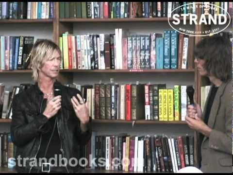 """Duff McKagan """"It's So Easy: And Other Lies""""  with Rolling Stone's David Fricke"""