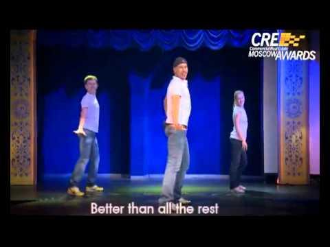 Видео, Flash Mob CRE Moscow Awards официальное видео