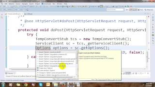 call web service w3school with java
