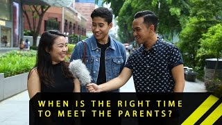 When Is The Right Time To Meet The Parents? | Word On The Street