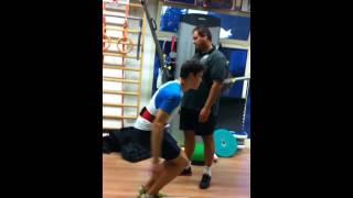 Squat jump test