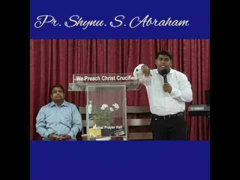 Pr. Shynu S Abraham Preaching at Christ Embassy Church Kuwait on 19 May, 2017.
