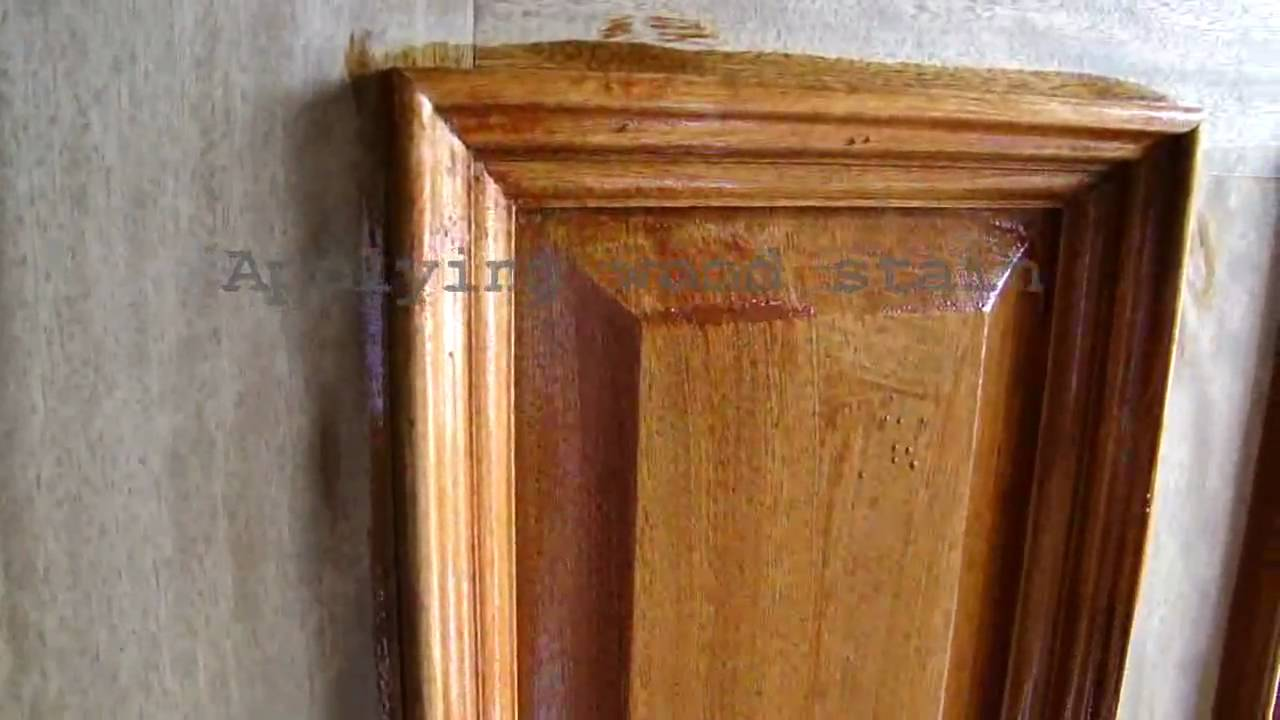 Wood Door Refinishing  Dallas FT Worth  Staining and