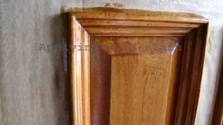 Wood Door Refinishing   Dallas Ft. Worth   Staining And Sealing   Door Finish Varnish   Restoration