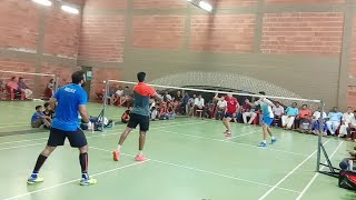 ASWIN P - SHYAM PRASAD vs BENNET SREEJITH Final Men's Doubles Anitha Parthiban Badminton Tournament