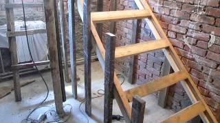 Изготовление бетонной лестницы(, 2014-06-30T20:17:19.000Z)