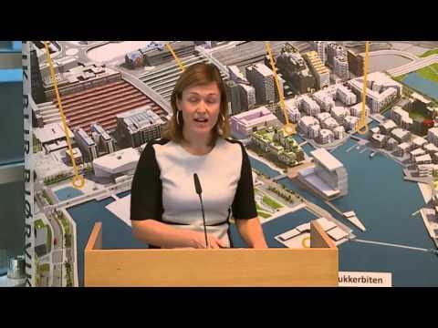 Kristin Danielsen, biblioteksjef Deichmanske Bibliotek, Oslo