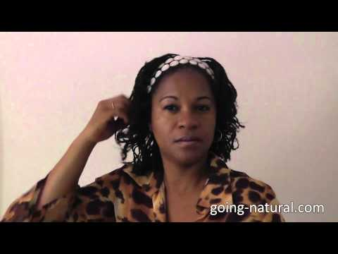 How to accessorize your Natural Hairstyle with Cowrie Shells.