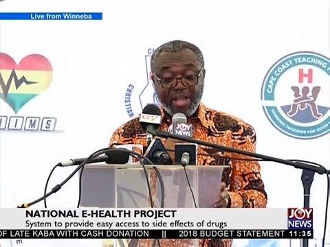 National E-Health Project - News Desk on Joy News (21-11-17)