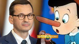 Morawiecki To PINOKIO! Ma Coraz Większy NOS. Śmiszek Z Lewicy MOCNO O Premierze