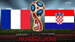 FRANKREICH vs. KROATIEN | WM 2018 - FINALE