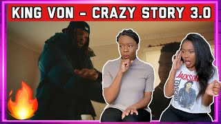 King Von - Crazy Story, Pt. 3 (Official Video) REACTION | THE BEST ONE!!