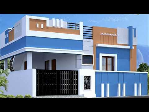 Most Beautiful Small House Front Elevation Designs 3d Front
