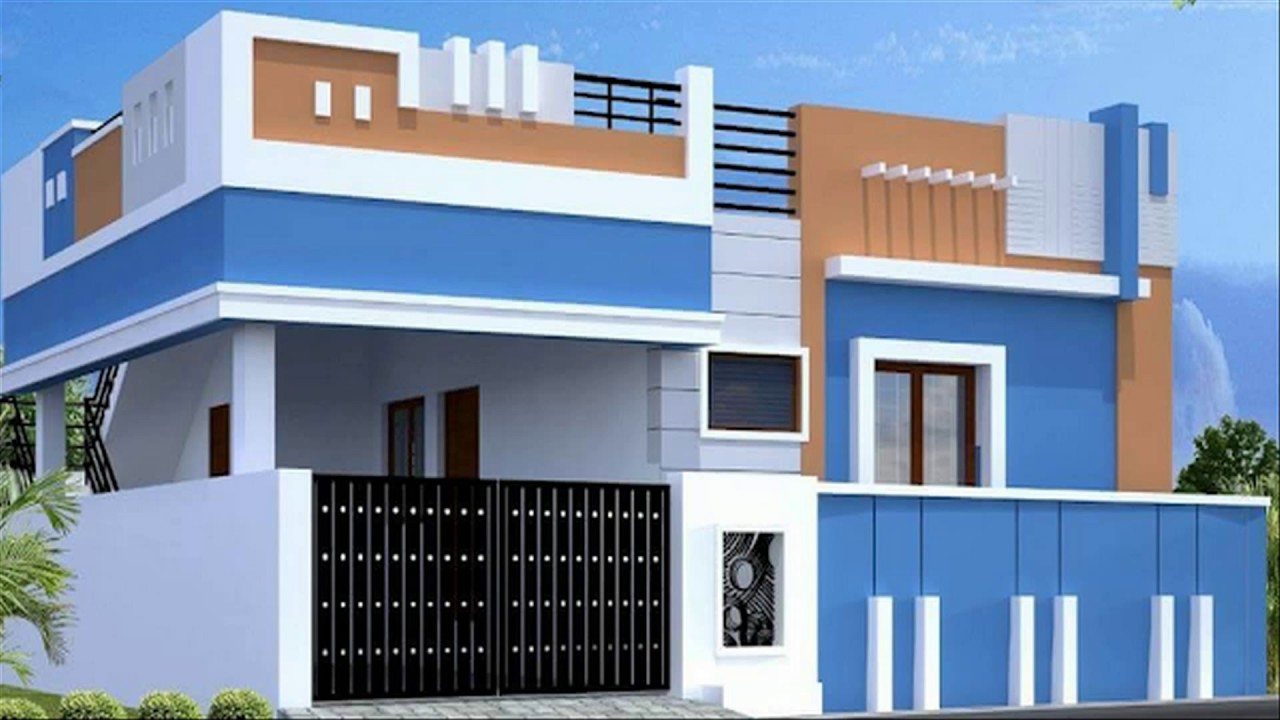 Ground Floor House Elevation Furnished : Single floor house elevations ground