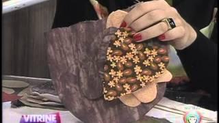 Leila Lima ensina artesanato de bando para cortina
