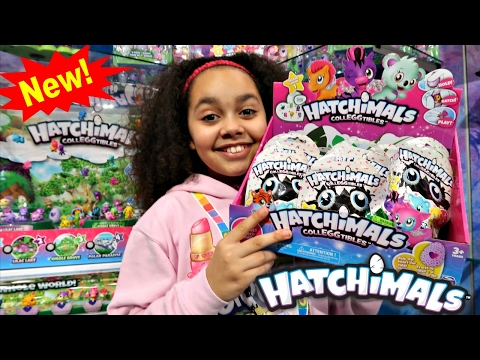 Thumbnail: NEW Hatchimals Colleggtibles Surprise Eggs Blind Bags Opening - Kids Toy Review | Toys AndMe