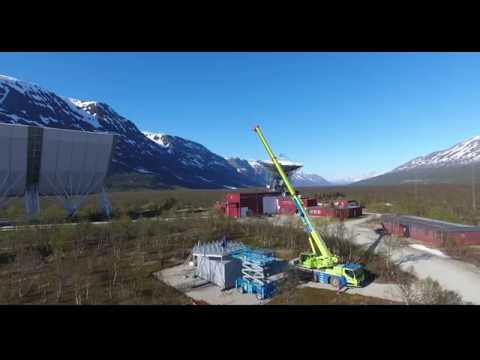 EISCAT Tromso EISCAT 3D test site