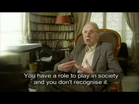 Documentary on the life of Jean Paul Sartre : The Road to Freedom