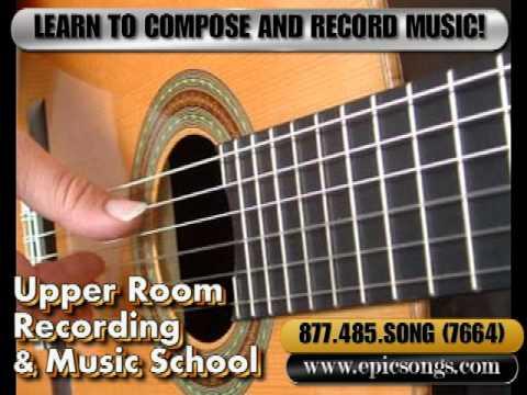 Upper Room Recording School, Asheville, Piano Lessons, Music