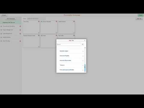 PeopleSoft Fluid Forms And Approval Builder