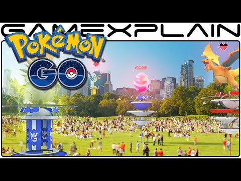 Pokémon Go - Massive Update to Add Redesigned Gyms, Raid Battles, & New Items!