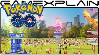 Pokémon Go - Massive Update to Add Redesigned Gyms, Raid Battles, & New Items!