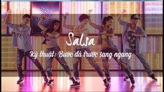 Học nhảy điệu Salsa   giảm cân hiệu quả trên nền nhạc Dance dành cho người mới bắt đầu