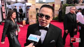 Senedy Que of GMA Networks excitment to be at Golden Globes