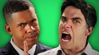 Epic Rap Battles Of History - Behind the Scenes - Barack Obama vs Mitt Romney thumbnail