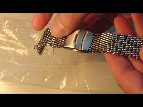 Браслет для часов Акулья сетка Bracelet Watch Shark Mesh