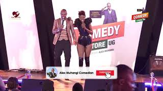 Alex Muhangi Comedy Store September 2019 - Lydia Jazmine on Kenzo + Rema