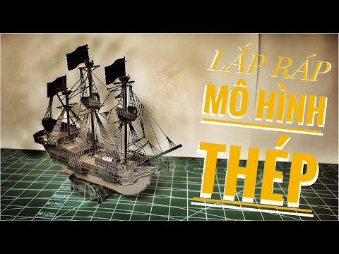 Metal Model Golden Hind - Lắp Ráp Mô Hình Thép 3D Tàu Golden Hind