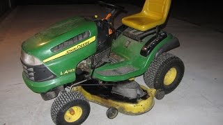 How to Change Oil on a John Deere Lawn Tractor