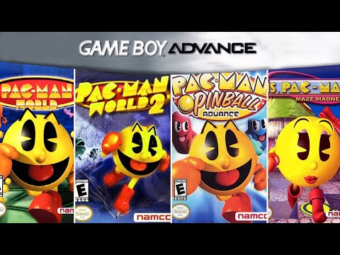 All Pac-Man Games In GBA