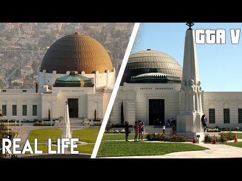 GTA 5 vs REAL LIFE - Los Angeles vs Los Santos