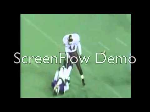 Hardest College Football Hit!!!