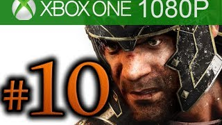 Ryse Son of Rome Walkthrough Part 10 [1080p HD Xbox ONE] - No Commentary