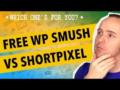 WPSmush vs. ShortPixel - Difference In Free Versions - WordPress Image Compression - 동영상