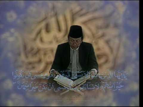 """H.Nanang Qosim Z.A """" Surat Al Hujuraat Ayat 10-13 """" Hari Hari Besar Islam"""