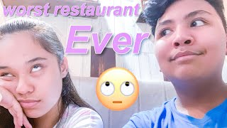 possibly the worst restaurant ever | that's so joshua