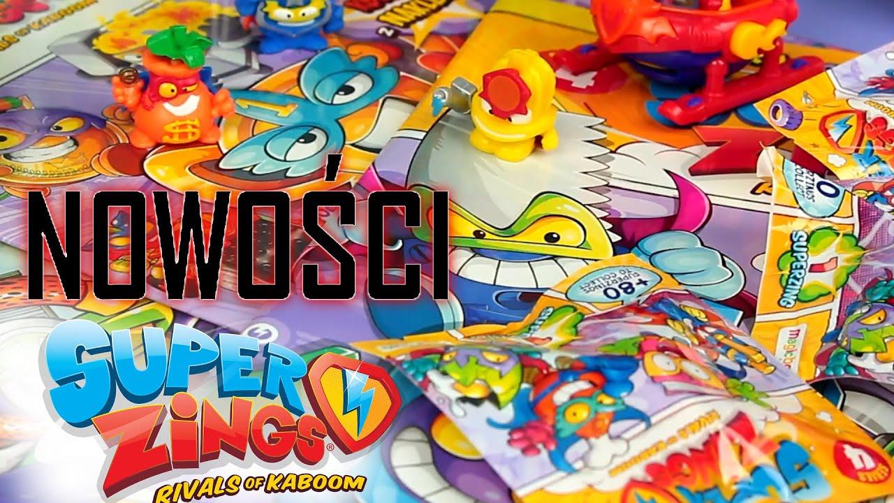 Super Zings seria 4 ⚡ Nowości z Kaboom City ⚡ figurki i pojazdy ⚡ Toys Land