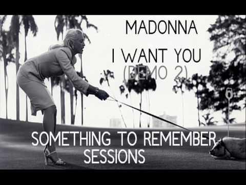 Madonna - I Want You (Demo 2)